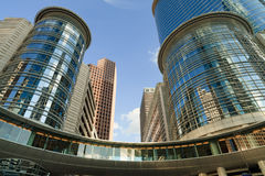 budynków śródmieścia biuro Obrazy Stock