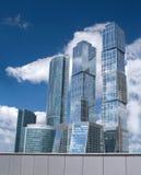 budynków biznesowego centre miasto Moscow Obraz Stock
