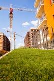 budynków budowy mieszkaniowy poniższy Zdjęcia Stock