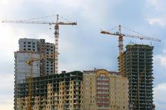 budynków budowy nowy poniższy Obraz Royalty Free