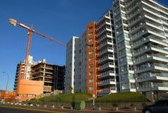 budynków budowy żuraw Fotografia Stock