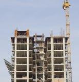 budynków budowy żurawie Zdjęcia Stock