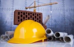 budynków budowy żurawie Obrazy Stock