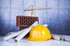 budynków budowy żurawie Fotografia Stock