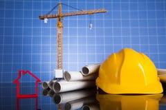 budynków budowy żurawie Obraz Royalty Free