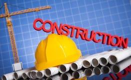 budynków budowy żurawie Fotografia Royalty Free