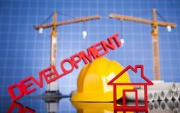 budynków budowy żurawie Zdjęcie Royalty Free