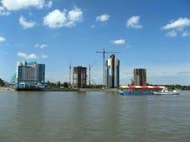 budynków budowy wysoko nowy wzrosta riv Obraz Stock