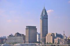 budynków bund miasto Shanghai Fotografia Royalty Free