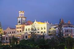 budynków Del Duque playa Spain Tenerife Obrazy Royalty Free