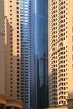 budynków Dubai marina obraz royalty free
