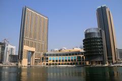 budynków Dubai marina fotografia stock