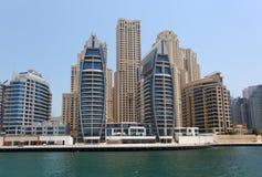 budynków Dubai marina nowy zdjęcie royalty free
