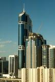 budynków Dubai nowożytny zlany obraz stock
