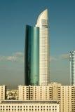 budynków Dubai nowożytny zlany obraz royalty free
