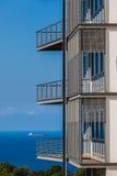 Budynków ganeczków oceanu statku sen Obrazy Royalty Free