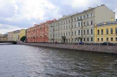 budynków historyczny Petersburg st Obraz Stock