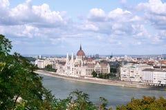 budynków hungarian parlament Zdjęcie Stock