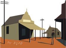 budynków ilustraci odludzie Zdjęcia Stock