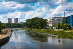 budynków Ivanovo nowożytny widok Obrazy Stock