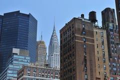 budynków miasta środek miasta nowy York obraz royalty free
