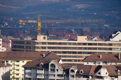 budynków miasta żurawia nowy nadmierny Zdjęcie Stock