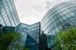 Budynków odbicia Zdjęcie Stock