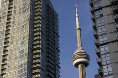 budynków pejzaż miejski cn nowożytny wierza dwa Fotografia Stock