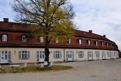 budynków schloss usługowa samotność Stuttgart obrazy royalty free