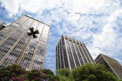 budynków w centrum Paulo sao obraz royalty free