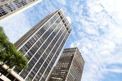 budynków w centrum Paulo sao fotografia royalty free