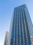 budynków wysokiego urzędu mieszkaniowy wzrost miastowy Obrazy Royalty Free