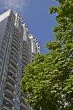 budynków wysoko mieszkaniowy wzrost Obrazy Royalty Free