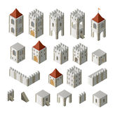 budynki średniowieczni Obrazy Stock