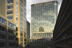 budynki biurowi Fotografia Royalty Free