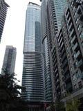 Budynki biurowi i inni budynki w Toronto Kanada obraz stock