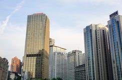 Budynki biurowi przy dzielnicą biznesu w Kuala Lumpur, Malezja obrazy stock