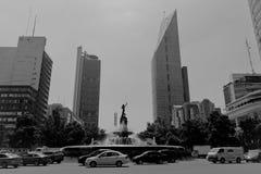 Budynki biurowi przy Meksyk obraz stock