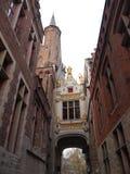 Budynki Bruges, Belgia (,) Zdjęcia Royalty Free