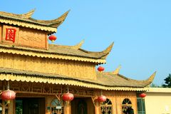 budynki chińscy Obrazy Stock