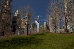 budynki Chicago Obrazy Royalty Free