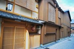 budynki drewniani zdjęcie royalty free
