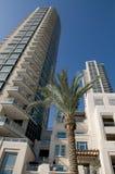 budynki Dubai mieszkaniowy Obrazy Stock