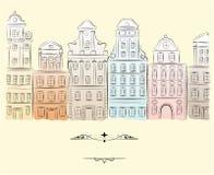 budynki dziejowi royalty ilustracja