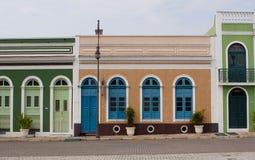 budynki dziejowy Manaus obraz stock