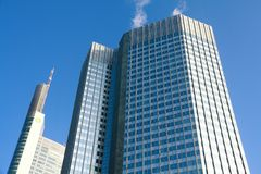 budynki Frankfurt obrazy stock