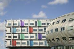 budynki futurystyczni Obraz Royalty Free