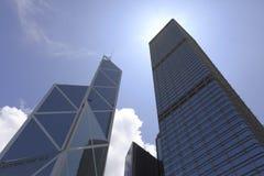 budynki Hongkong Zdjęcia Royalty Free