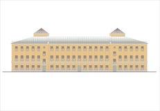 Budynki i struktury xx wiek wczesny i w połowie Rysunki domy klasyczna architektura końcówka 18-19- Fotografia Stock