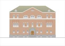 Budynki i struktury xx wiek wczesny i w połowie Rysunki domy klasyczna architektura końcówka 18-19- Zdjęcia Stock